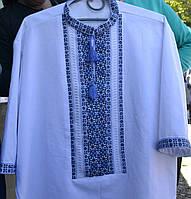 Сорочка вишиванка для чоловіків ручної роботи.