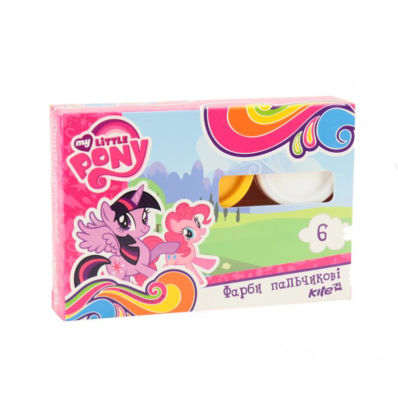 Краски пальчиковые Little Pony, 6 цветов,LP17-064