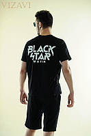 Костюм мужской футболка и шорты Блек Стар  ро1025