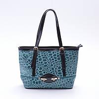 Женская сумка А057 голубая