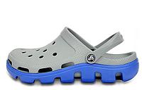 Мужские  Crocs Duet Sport Clog Grey Blue
