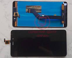 ZTE Blade X3 A452 дисплей в зборі з тачскріном модуль чорний