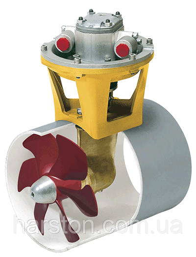 Гидравлическое подруливающее устройство Vetus 310 кгс, 20,0 кВт, диаметром 300 мм
