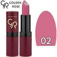 Губная помада матовая Golden Rose Velvet Matte Lipstick Тон 02 Dusty Lilac