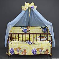"""Комплект постельного белья для новорожденного """" Фиксики"""""""