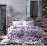 Двуспальное евро постельное белье TAC Vincent Сатин