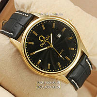 Часы Omega Quartz Gold/Black