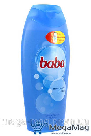 Гель для душа BABA Lanolin 400мл, фото 2