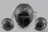 """Шлем открытый """"LS2"""" (mod:545) (size:XL, белый матовый, солнцезащитные очки)"""
