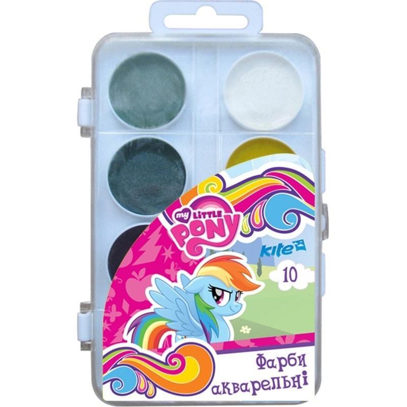 Краски акварельные Little Pony, 10 цветов,LP17-060
