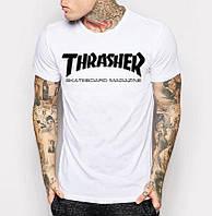 Футболка мужская белая Thrasher
