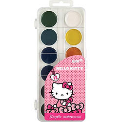 Краски акварельные Hello Kitty, 12 цветов HK17-061