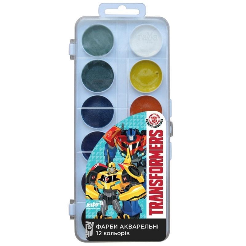 Краски акварельные Transformers, 12 цветов TF17-061