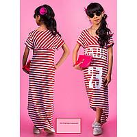 Детское платье туника летнее