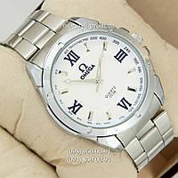 Часы Omega 003B Quartz Silver/White