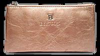 Женский кошелек-клатч Bobi Digi цвета пудры из кожзама WLP-061050, фото 1