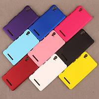 Пластиковый чехол Alisa для Lenovo A858t (7 цветов)