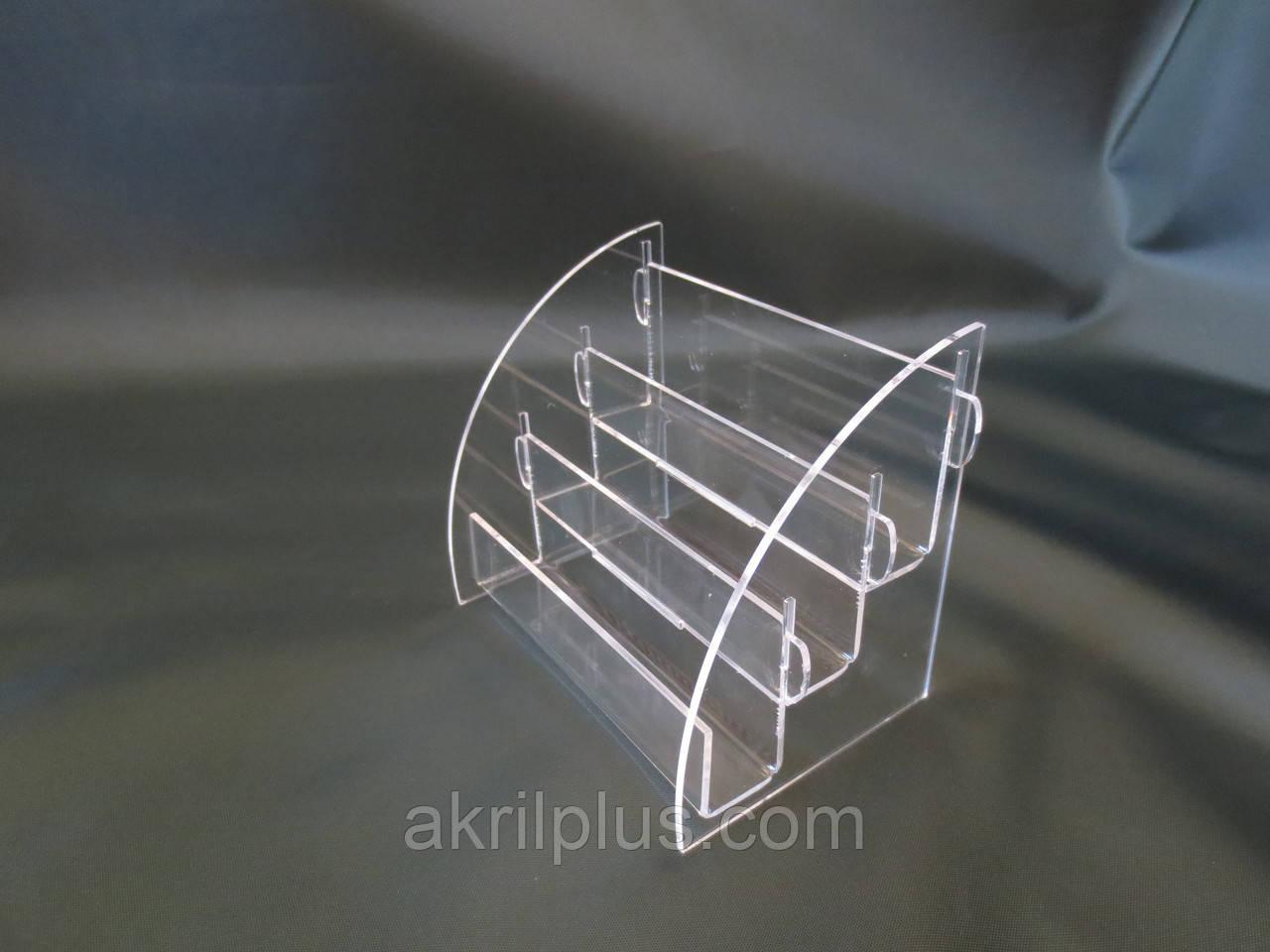 Визитница 3-ярусная акриловая, фото 1