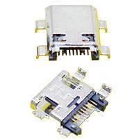 5хMicroUSB разъем гнездо 7pin MC-044 Samsung I8260 S6812 S7582 G350