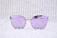Женские  солнцезащитные очки безоправные
