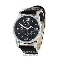 Часы Omega Quartz Black/Silver/Black