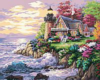 Картина для рисования по номерам Домиу маяка