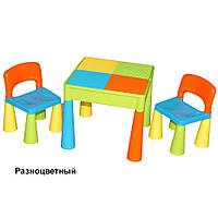 Детский столик и два стульчика Tega Mamut 899UN Мультиколор