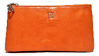 Женский кошелек-клатч Bobi Digi оранжевого цвета из кожзама WLP-061055, фото 1