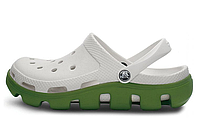 Женские  Crocs Duet Sport Clog White Green