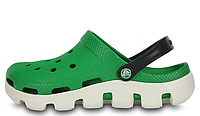 Женские Crocs Duet Sport Clog Green White