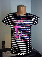 Летняя вискозная туника на девочку от 3 до 6 лет