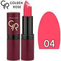 Губная помада матовая Golden Rose Velvet Matte Lipstick Тон 04 hot pink
