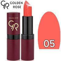 Губная помада матовая Golden Rose Velvet Matte Lipstick Тон 05 rose