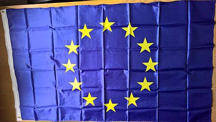 Флаг Евросоюза - (Эконом) - (0.9м*1.5м), фото 2