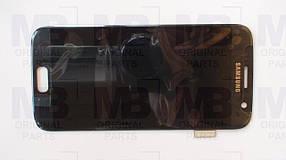 Дисплей c сенсором Samsung SM-G930 Galaxy S7 Black, GH97-18523A, оригинал!