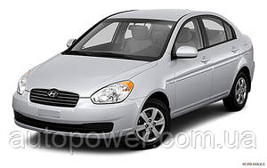 Фаркоп на Hyundai Accent( MC/MCT) хетчбек/седан 06/2006-2011