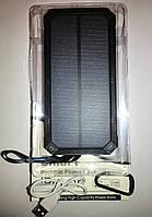 Solar Power Bank (iPower) 32800mAh + 8 LED фонарь (2 USB)