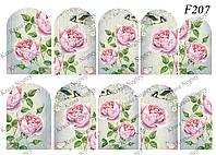 Слайдер -дизайн Цветы Розы,Птичка F207