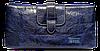 Интересный женский кошелек из натуральной кожи синего цвета JCCS JQS-101020
