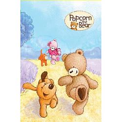 Блокнот Popcorn the Bear, 48 листов