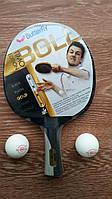 Ракетка для настольного тенниса теннисная BUTTERFLY TIMO BOLL GOLD