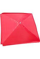 Зонт торговый 3х3 м квадратный с серебряным напылением красный, синий, зеленый