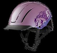 """Шлем, каска, """"Spirit"""", для девочки, розовый с рисунком"""