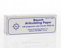 Артикуляционная бумага BK05 синяя 200мк.300шт.