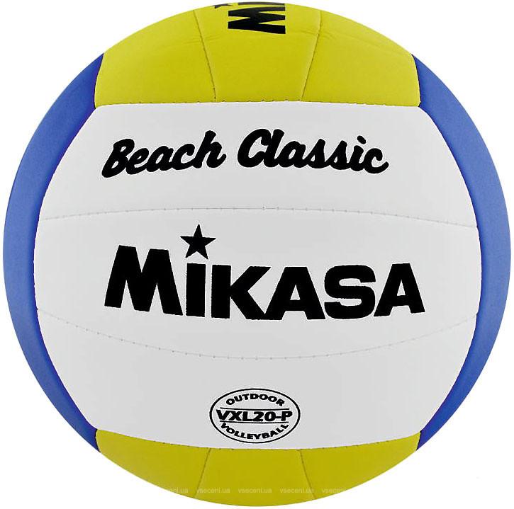 Мяч для пляжного волейбола Mikasa VXL20-P (4907225867363)