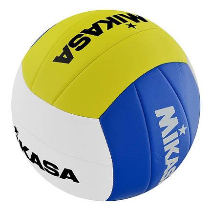Мяч для пляжного волейбола Mikasa VXL20-P (4907225867363), фото 2