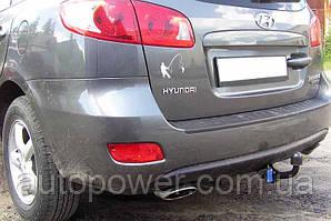 Фаркоп на Hyundai Santa Fe 2006-8/2012