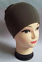 Детская весенне-осенняя шапка для мальчиков, серая