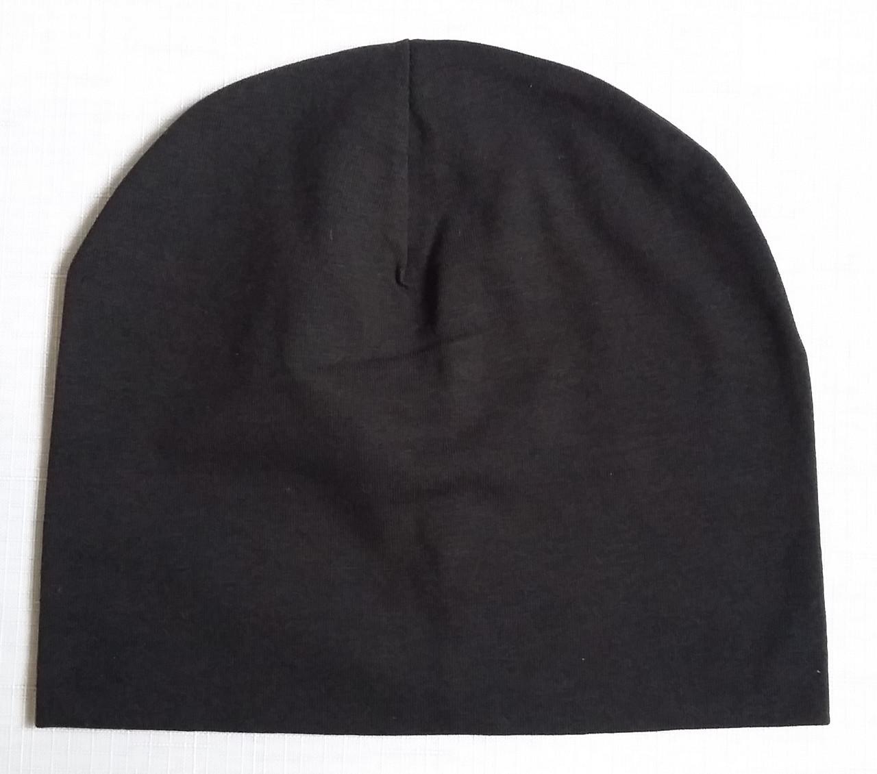 Детская летняя шапка для новорожденных, черная