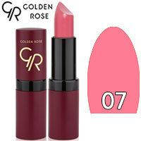 Губная помада матовая Golden Rose Velvet Matte Lipstick Тон 07 Light Lilac